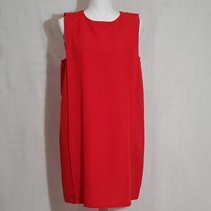 ZARA Linen Shift Dress